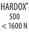 HARDOX 500 < 1600 Н/мм²