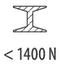 сталь < 1400 Н/мм²