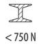 сталь < 750 Н/мм²
