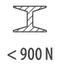сталь < 900 Н/мм²