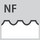Milling profile NF