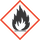 Labelling of hazardous substances GHS02 flammable