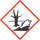 Labelling of hazardous substances GHS09 harmful to the environment