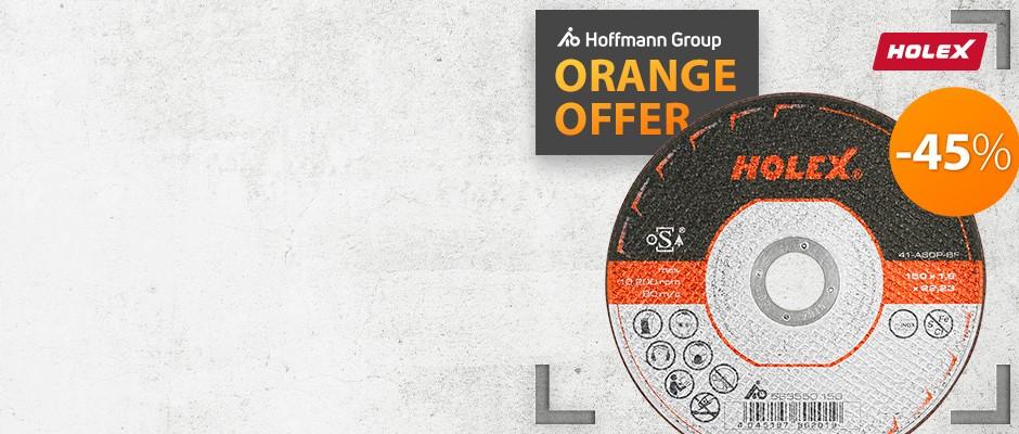 Tarcze ścierne HOLEX   Promocja Hoffmann Group Perschmann